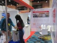 2018年9月赴哥伦比亚参加第一届电力照明展