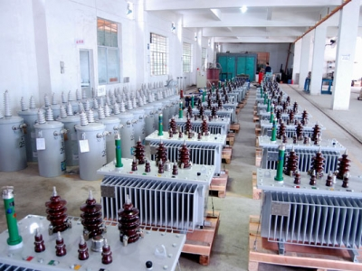 三相非晶合金SH15-50KVA配电变压器
